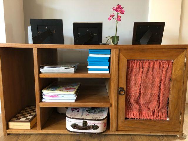 Mueble rustico TV