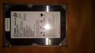 Disco duro IDE de 3.5 de 40 Gb para torre