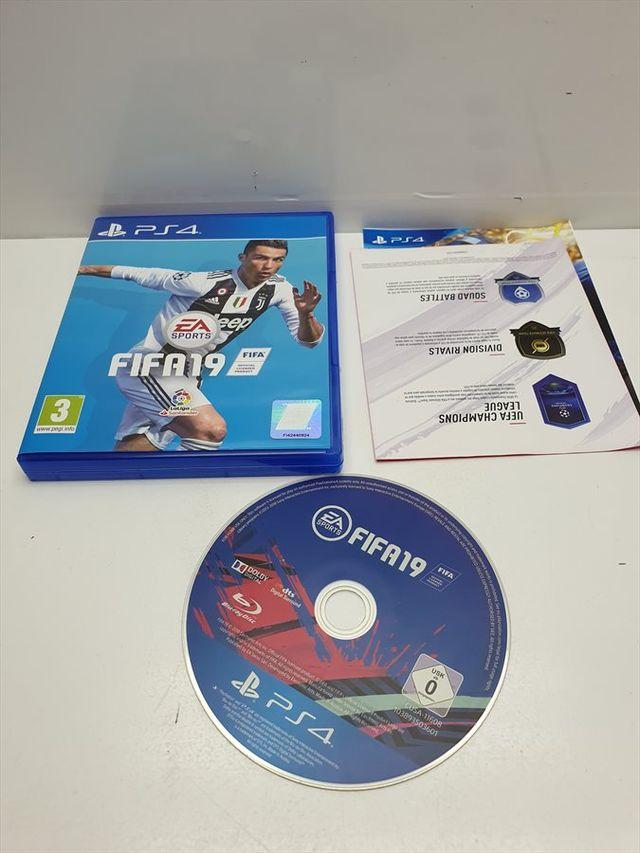 Juego PS4 Fifa 19 Comp