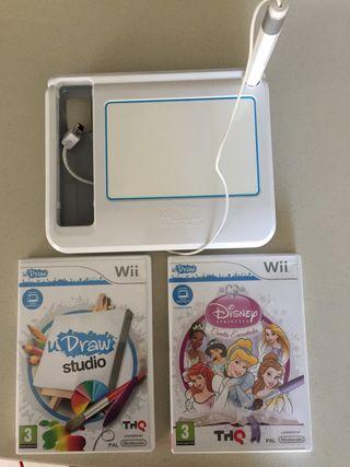 Juegos Wii + gametablet