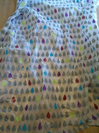 cortina ducha plastico