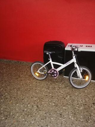 bicicleta decathlon princesa