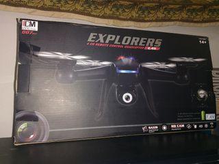 Drone explorers con camara