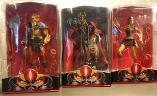 Mumm-Ra, Pumyra y Jackalman Thundercats MOTUC