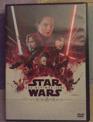 Película en dvd Star Wars