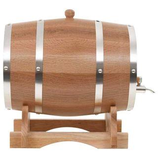 Barril de vino con grifo roble macizo 10 L