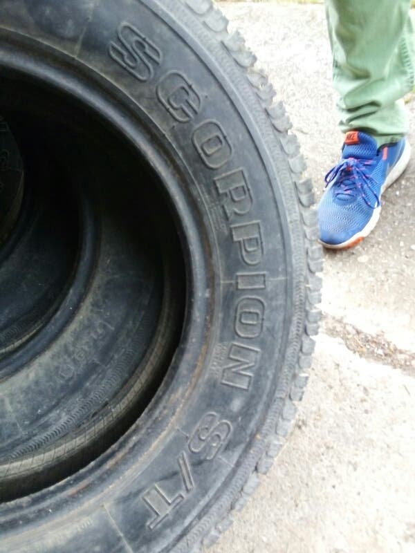 Juego de 4 neumáticos