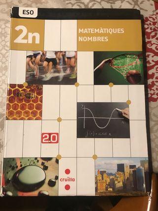 Libro Matematicas 2n ESO