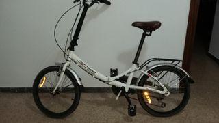 bicicleta plegable MEGAMO zambra