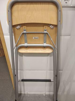 Dos taburetes Ikea