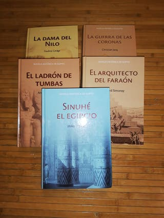 Colección novela histórica de Egipto
