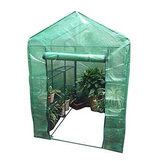 Plástico Portátil Jardín Cubierta de la casa Verde