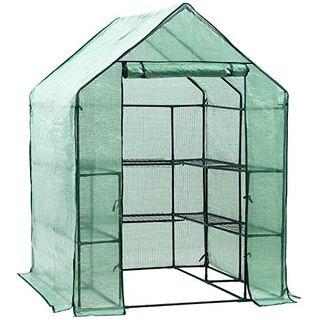 Invernadero de jardín vivero casero Plantas Cultiv