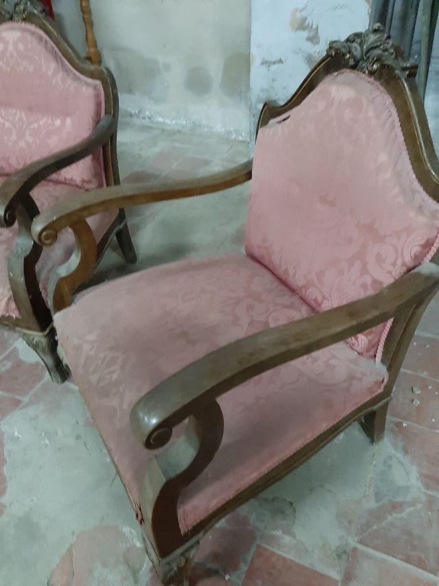 pareja de sillones con estilo