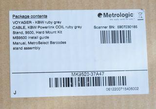 Lector de código de barras METROLOGIC MS9520