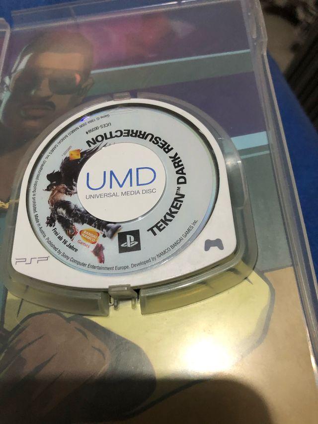 Juego Tekken PSP