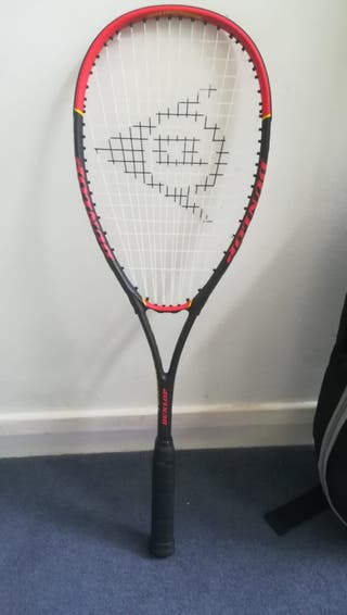 New squash racket Dunlop Fusion 2.0