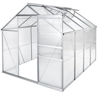Invernadero de jardín policarbonato transparente a