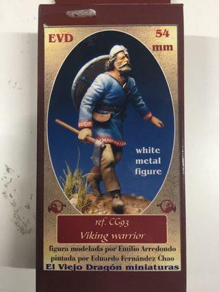 Figura de plomo vikingo