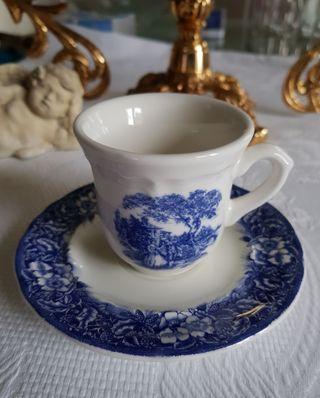 taza de café vintage