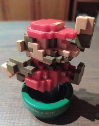 Amiibo Mario 30 Aniversario colores clásicos