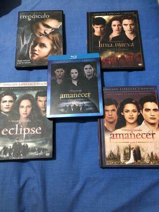5 películas de Crepúsculo