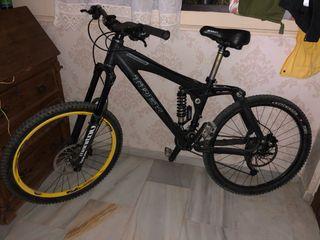 Bicicleta de descenso TREK