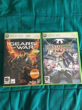 Gears of War y Phantasy Star Universe 360