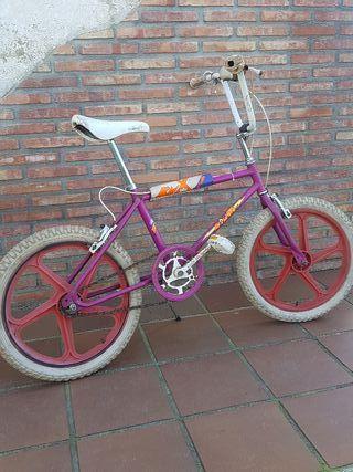 bicicleta antigua bmx