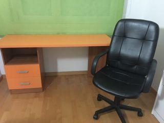 escritorio más silla