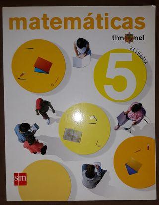 LIBRO TEXTO 5 PRIMARIA MATEMATICAS
