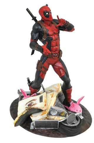 Estatua Deadpool Marvel Gallery 23cm
