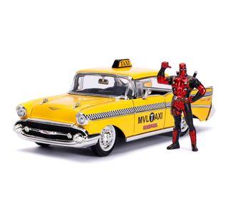 Replica coche Deadpool Yellow Taxi 1:24