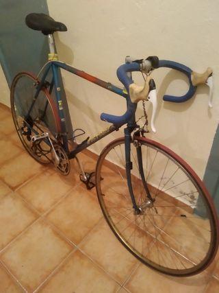 bicicleta de carrera años 70