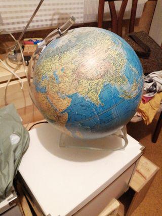 mapa mundi lampara