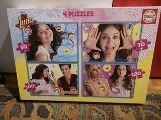 puzzles soy luna y juego máster chef junior