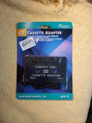 Adaptador Cassette/CD sin estrenar