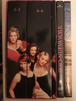 Serie Sexo en NY Ed. Especial + Película 1 y 2