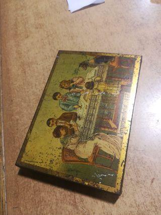Caja lata imprimerie 117. Imprenta antigua