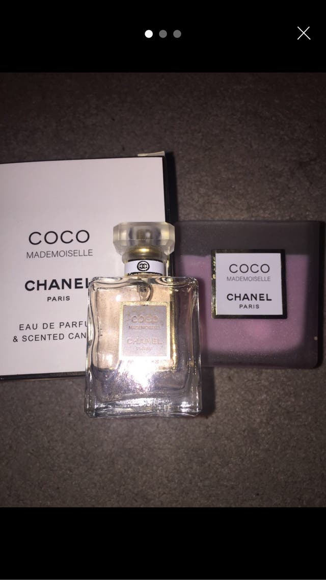 Coco Chanel 30ml parfum and candle set