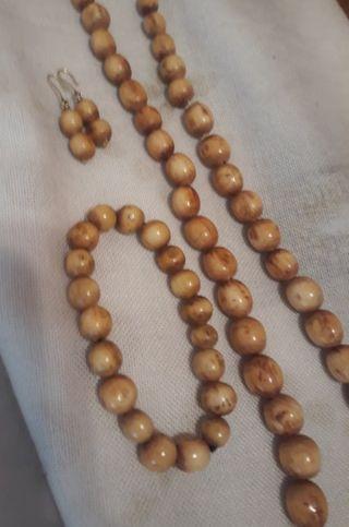 Collar+Pulsera+Pendientes AFRICANOS