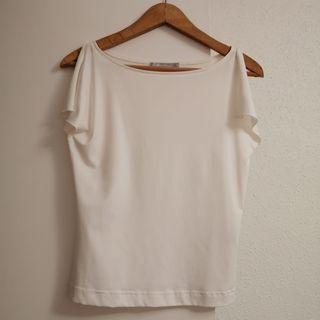 camiseta blanca elegante talla M