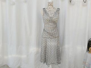 Purificación García vestido de seda Talla 40