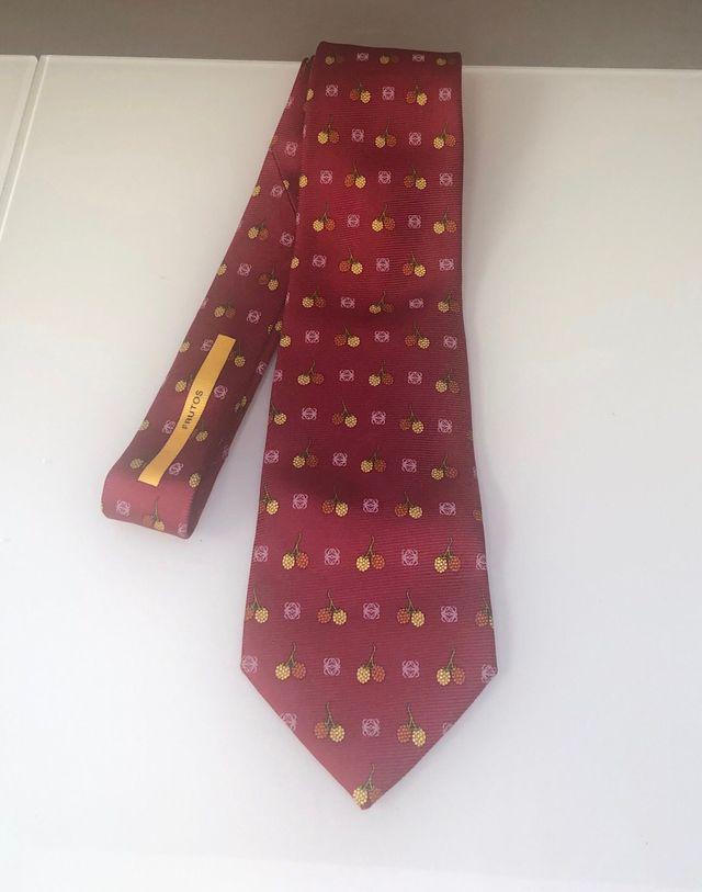 Corbata Loewe seda