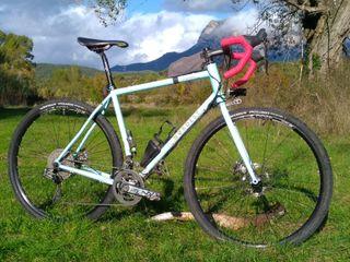 Bici de Gravel de acero Nordest Albarda talla L