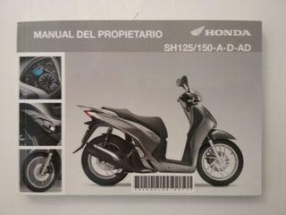 Manual SH 125