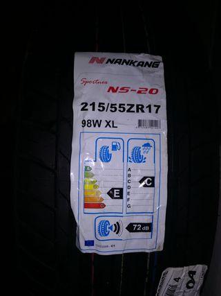 Neumaticos Nankang 215/55 R17