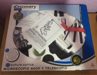 Microscopio 900x y Telescopio