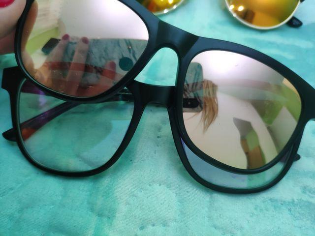 gafas dobles