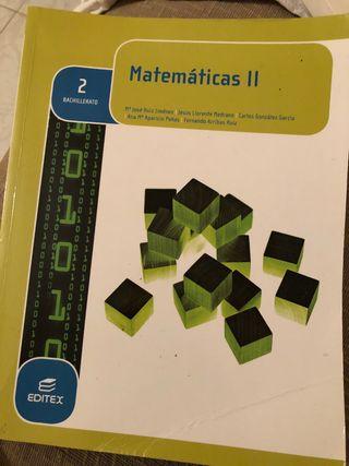 Libro matemáticas 2do bachillerato